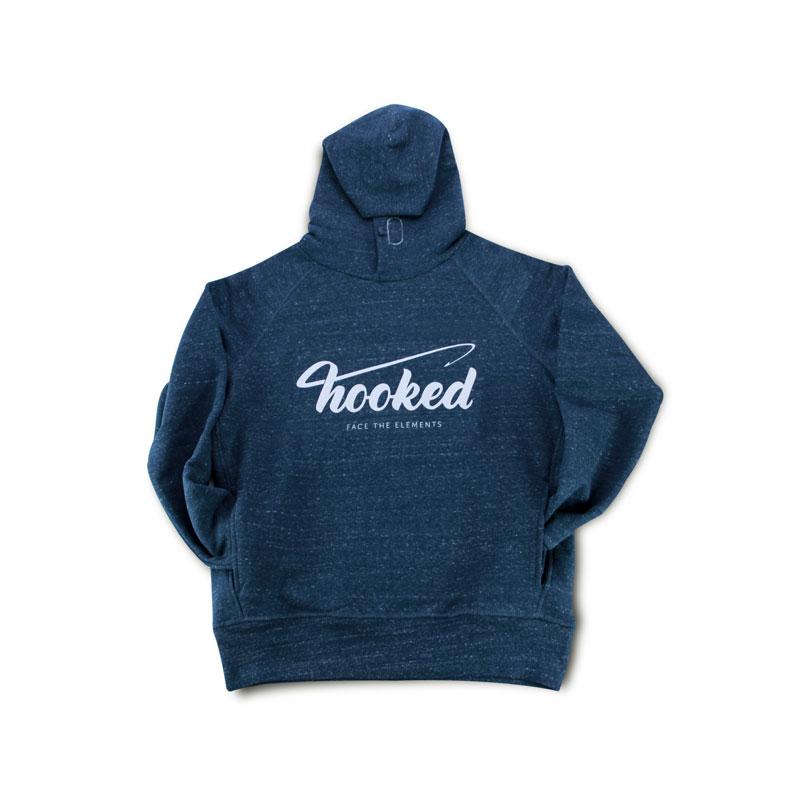 Hooked - basic hoodie denim blue
