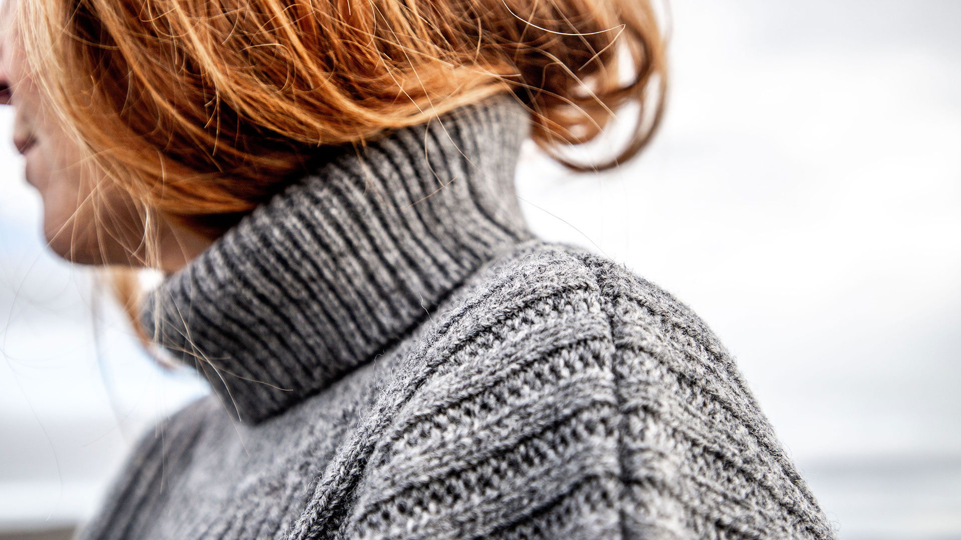 Discover our 100% pure woolen fishermen jumper